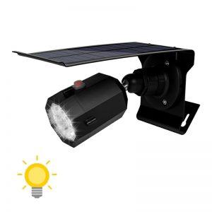 Projecteur solaire extérieur LED avec détecteur de mouvement