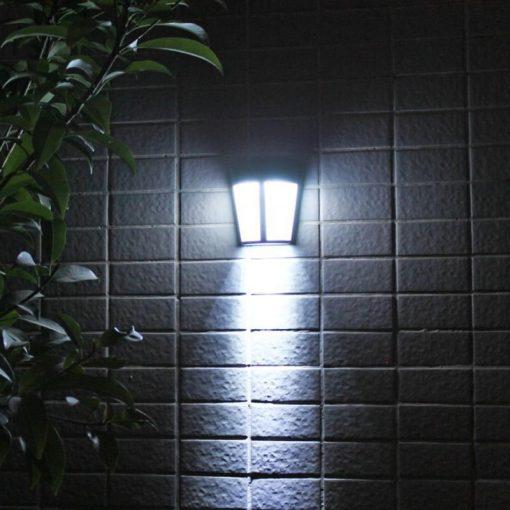 Applique extérieur solaire sans détecteur de mouvement murale