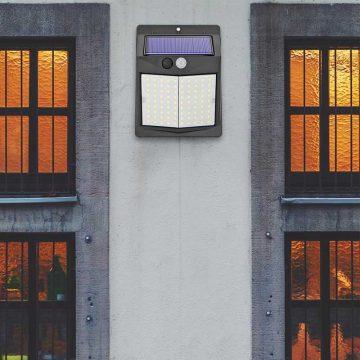 applique murale solaire à led extérieur