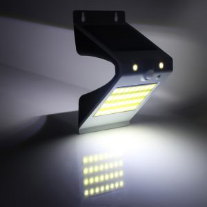 Applique murale solaire pour extérieur détecteur de mouvement