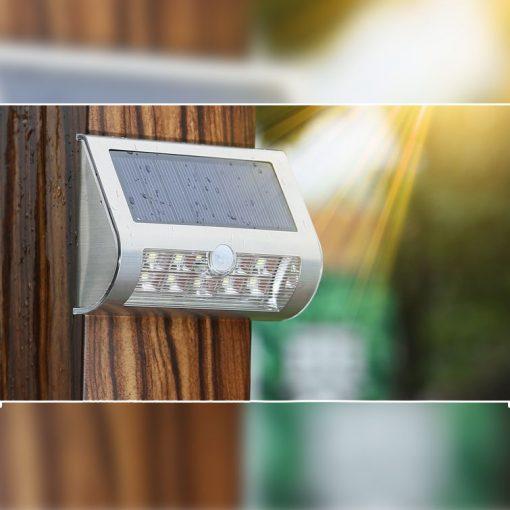 applique solaire led extérieur étanche
