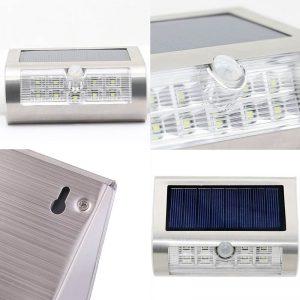 applique solaire led extérieur installation