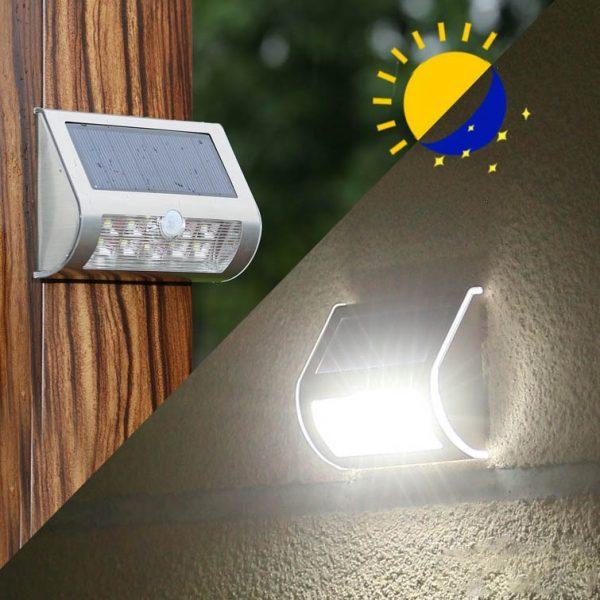 applique solaire led extérieur terrasse