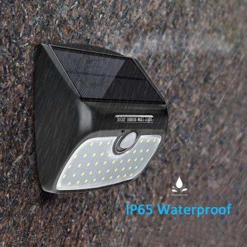 applique solaire panneau déporté led
