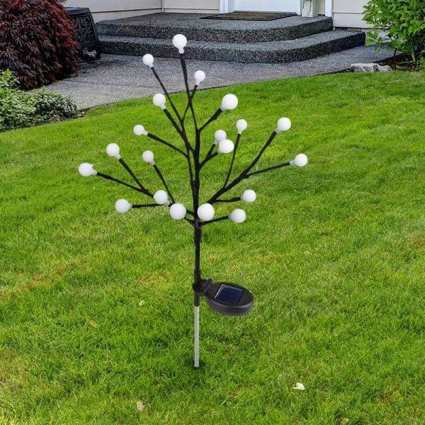 arbre lumineux extérieur solaire pas cher