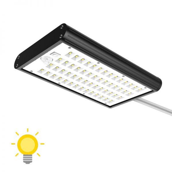 Éclairage extérieur automatique solaire