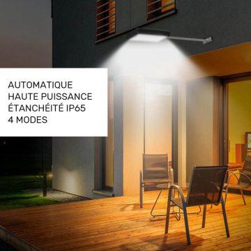 Éclairage extérieur automatique solaire jardin