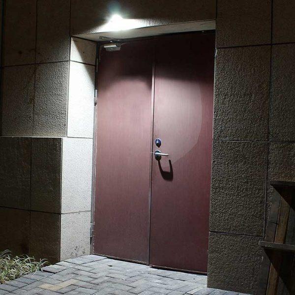 Éclairage extérieur lampe solaire murale led