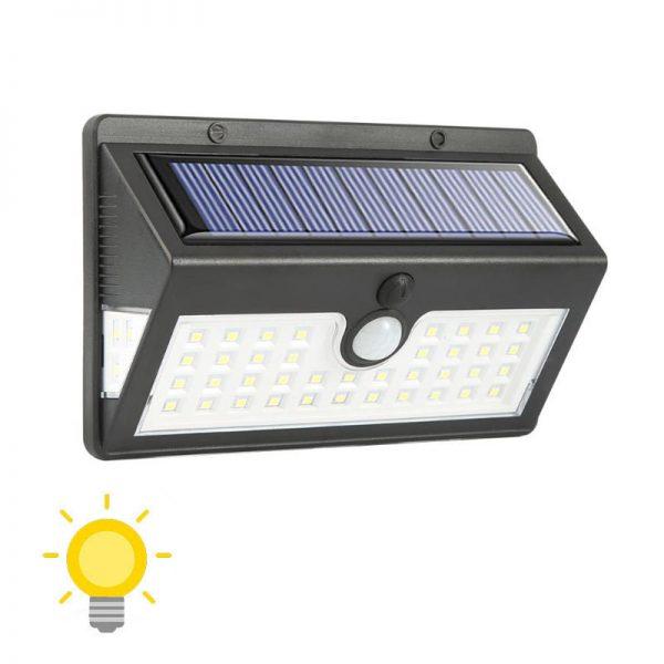 éclairage extérieur solaire à led