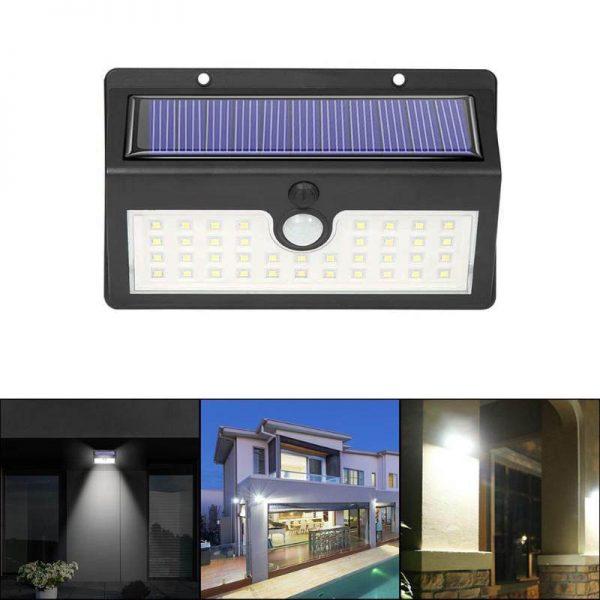 éclairage extérieur solaire à led automatique