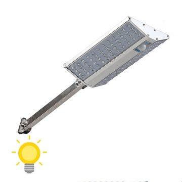 Éclairage extérieur solaire avec détecteur et télécommande