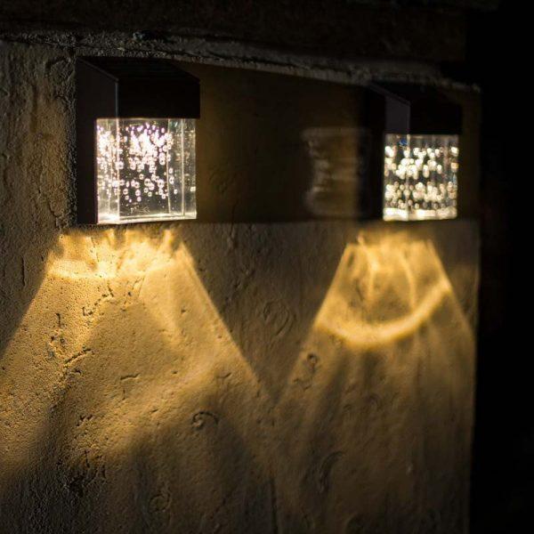 lampe bulles solaire extérieur