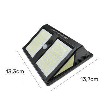 Lampe LED extérieur solaire avec détecteur dimensions