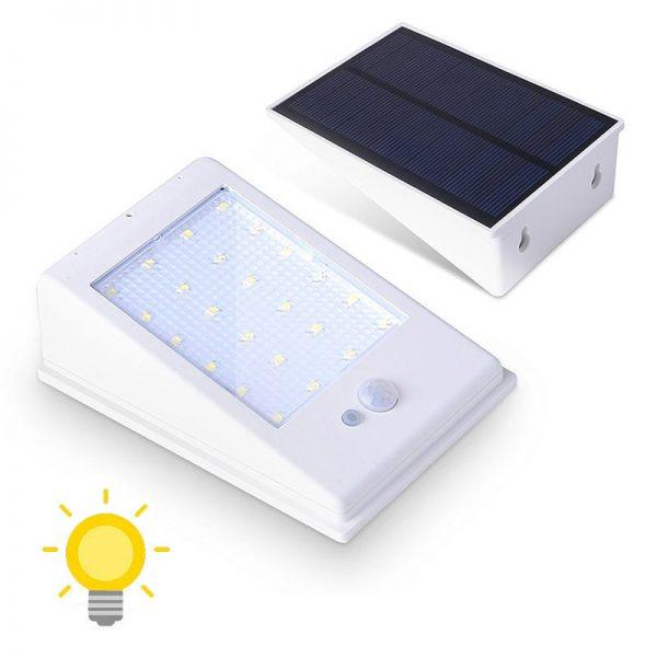 Lampe solaire 400 lumens
