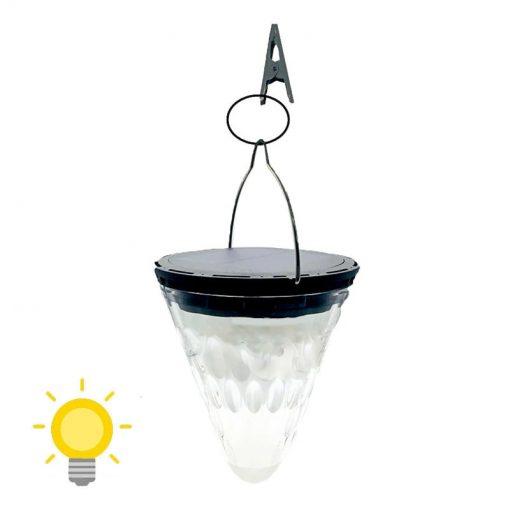 lampe solaire cône