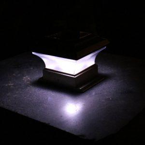lampe solaire de pilier led