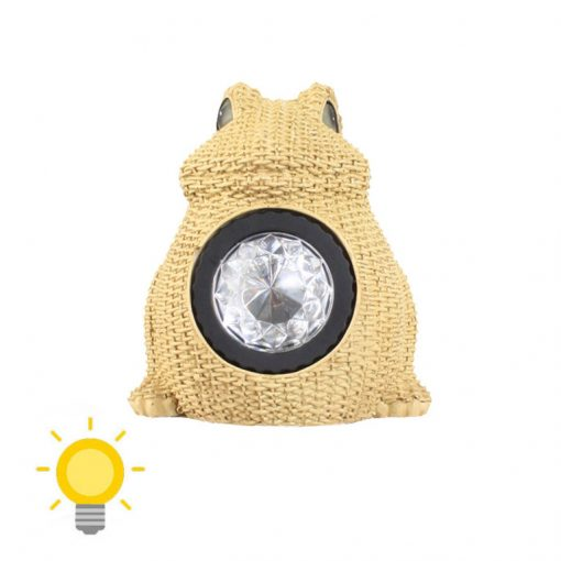 lampe solaire grenouille
