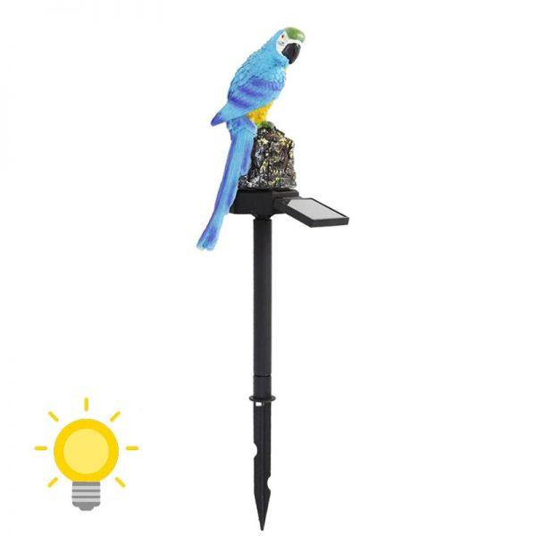lampe solaire perroquet