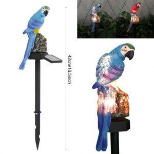 lampe solaire perroquet dimensions