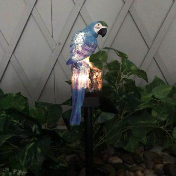 lampe solaire perroquet led