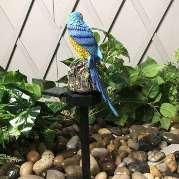 lampe solaire perroquet lumineux