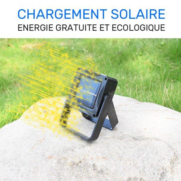 lampe solaire portable extérieur