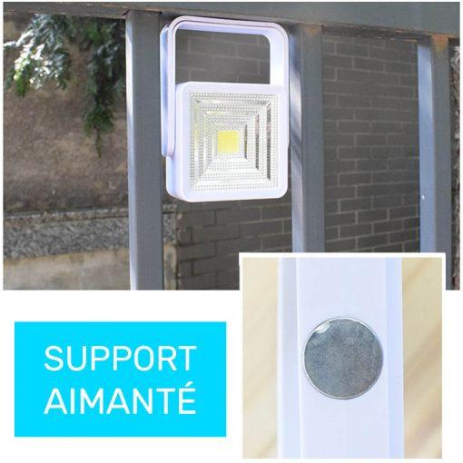 lampe solaire portable led
