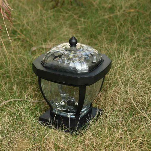 lampe solaire pour pilier de portail étanche