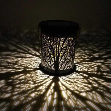 lanterne lumineuse solaire suspendue