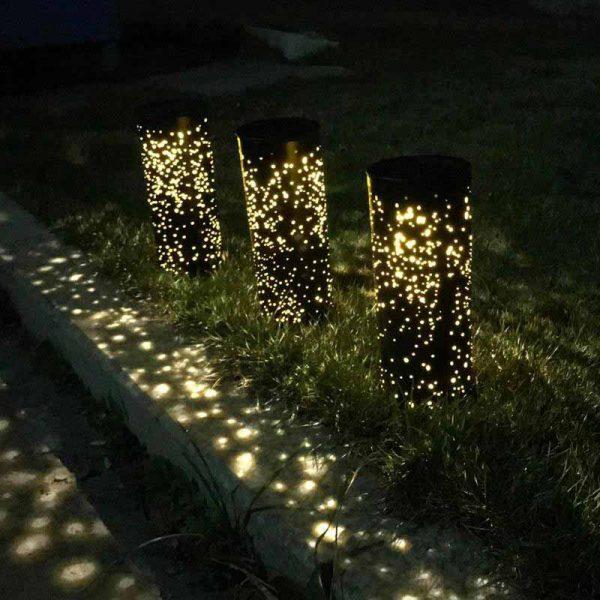 lampe solaire à piquer led