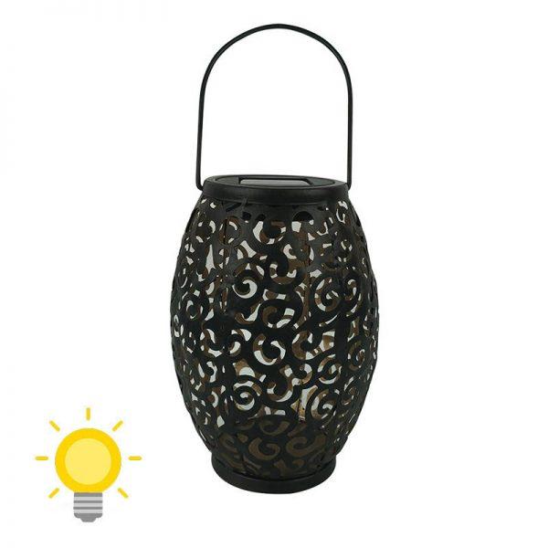 lanterne solaire métal