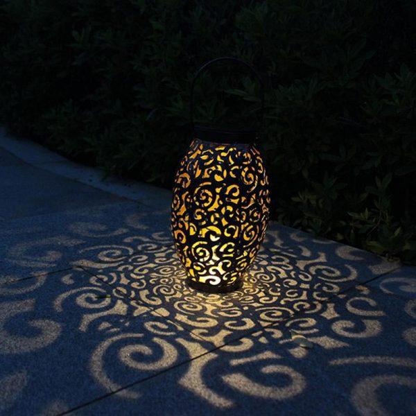 lanterne solaire métal extérieur