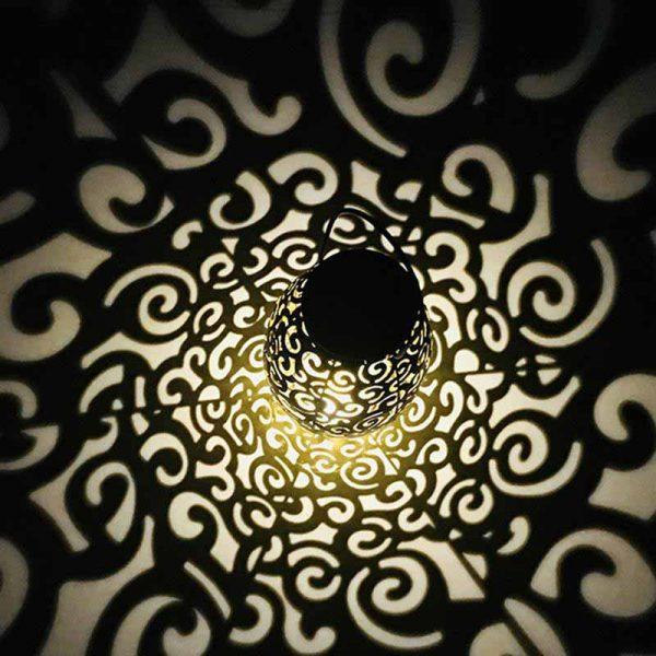 lanterne solaire métal led
