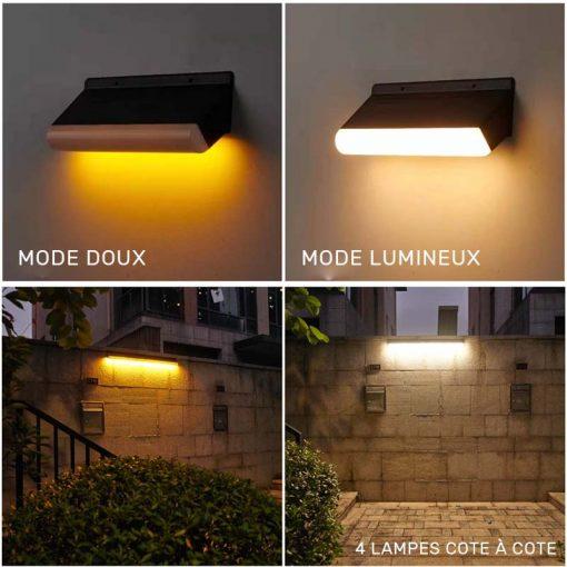 lampe solaire moderne extérieur