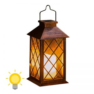lanterne solaire retro achat