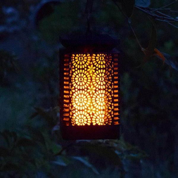 lanterne solaire terrasse extérieur