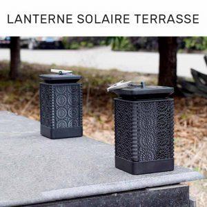 lanterne solaire terrasse jardin