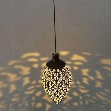 lanterne solaire vintage à suspendre