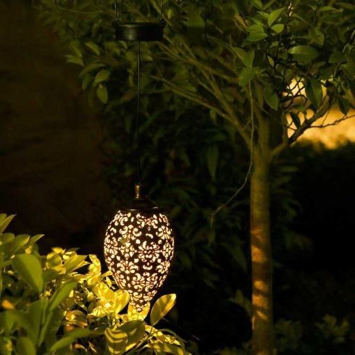 Lanterne solaire vintage jardin