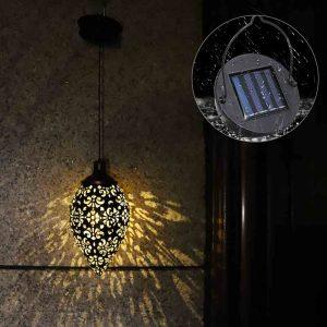 Lanterne solaire vintage led