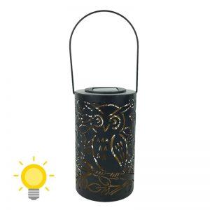 Lanterne suspendue extérieure solaire
