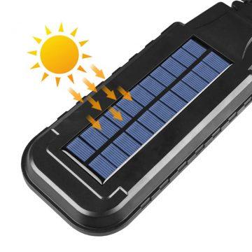 projecteur solaire à détection autonome