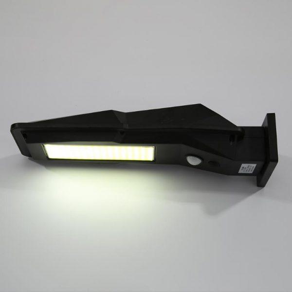 projecteur solaire à détection extérieur