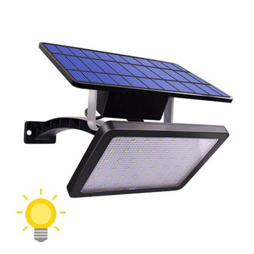 projecteur solaire avec interrupteur