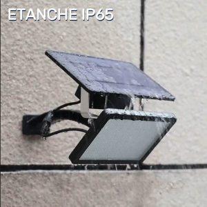 projecteur solaire avec interrupteur étanche