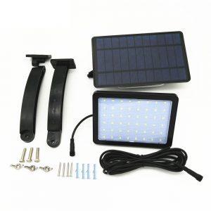 projecteur solaire avec interrupteur installation