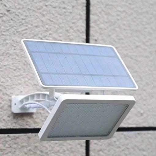 projecteur solaire avec interrupteur extérieur