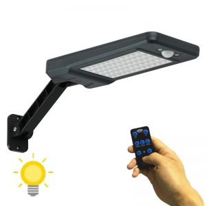 Projecteur solaire détecteur de mouvement pas cher