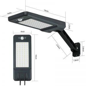 Projecteur solaire détecteur de mouvement pas cher dimensions