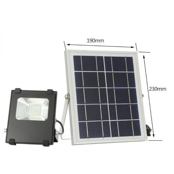 projecteur solaire façade extérieur